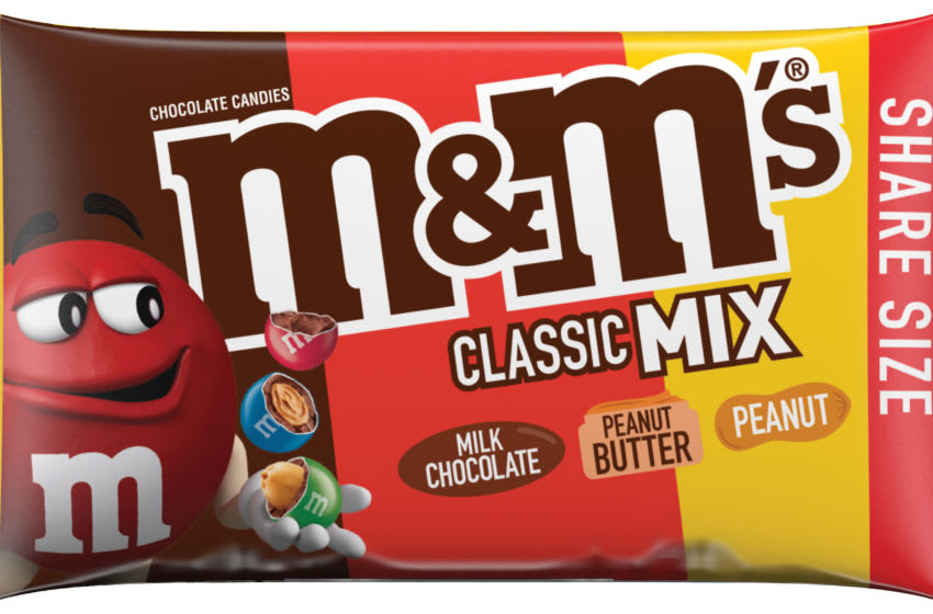New M&M'S MIX, photo provided by M&M'S
