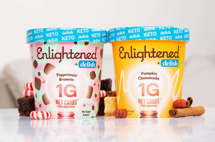 New Enlightened and Delish fall flavors, photo provided by Enlightened