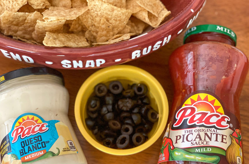 Making your own nacho bar is easy, photo provided by Cristine Struble