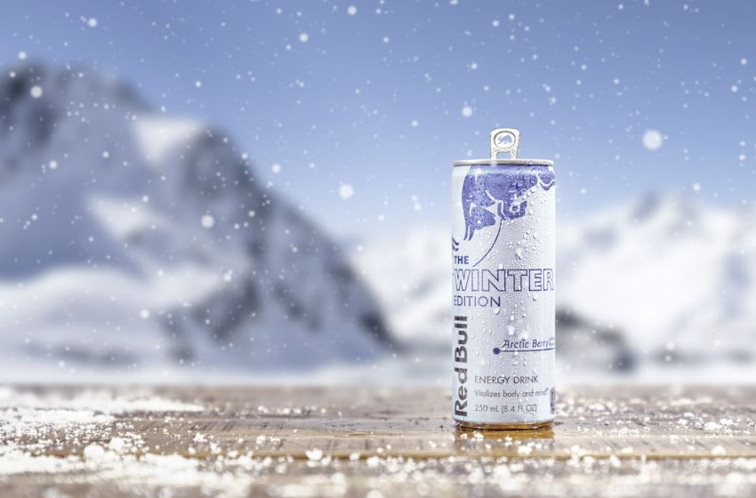 Red Bull Winter Edition Arctic Berry, photo provided by Red Bull