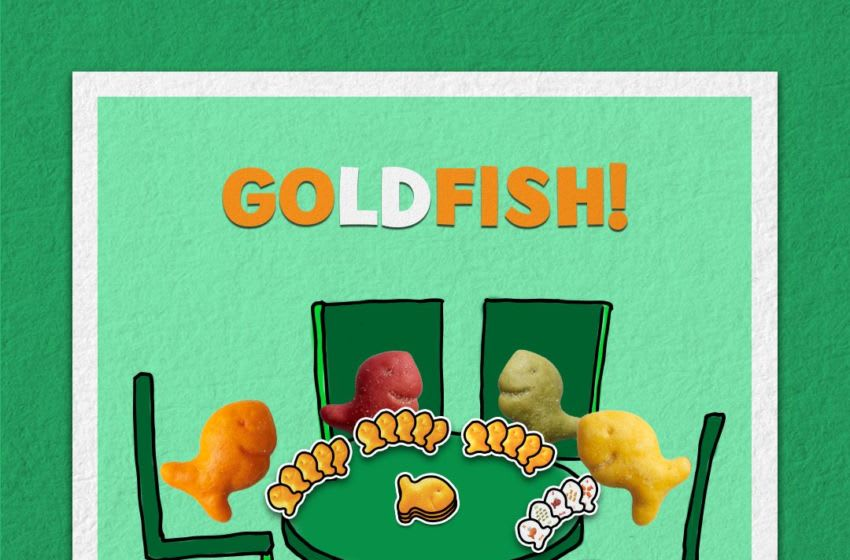GOldFISH card game for family game night, photo provided by Goldfish