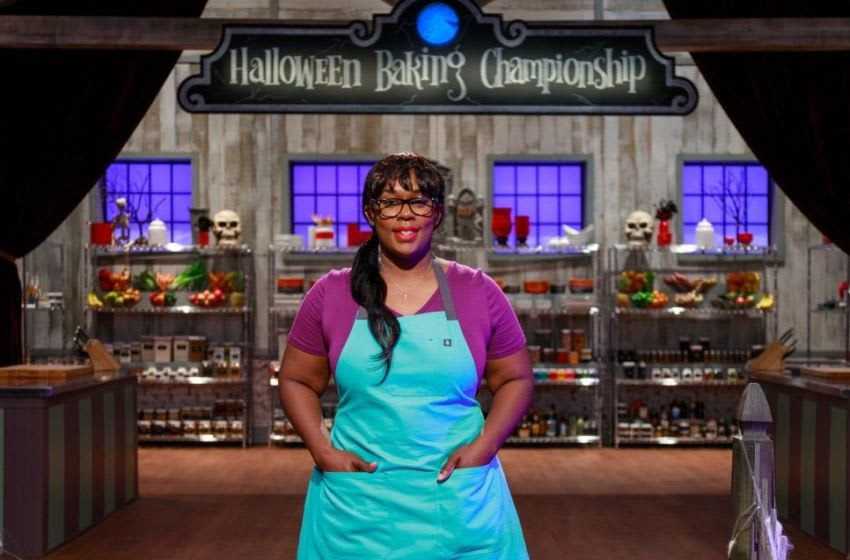 Halloween Baking Championship contestants, photo provided by Food Network