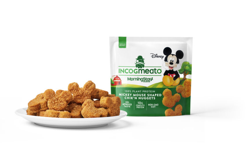 New Mickey shaped Incogmeato Nuggets, photo provided by Incogmeato