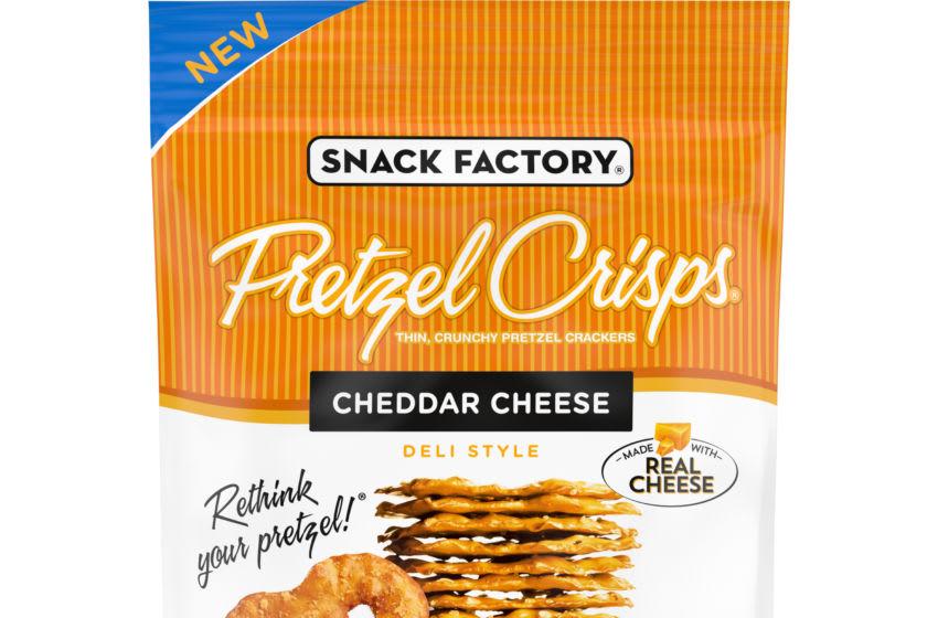 Pretzel Crisps Cheddar Cheese, photo provided by Pretzel Crisps
