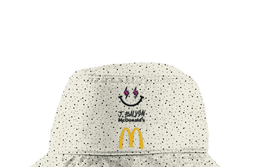 J Balvin McDonald's merchandise, photo provided by McDonald's