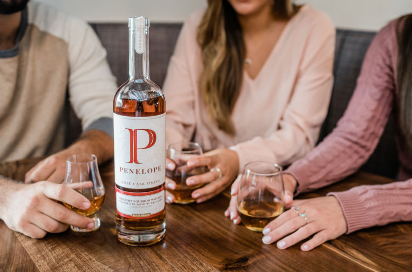 Penelope Bourbon, Rosé Cask Finish Bourbon , photo provided by Penelope Bourbon,