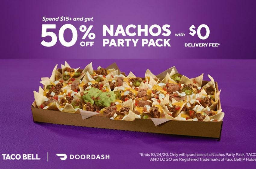 New DoorDash and Taco Bell Partnership, photo provided by DoorDash