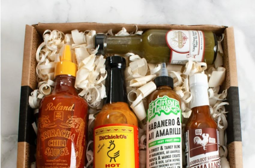 Enjoy this hot sauce collection from iGourmet as a gift this holiday season.