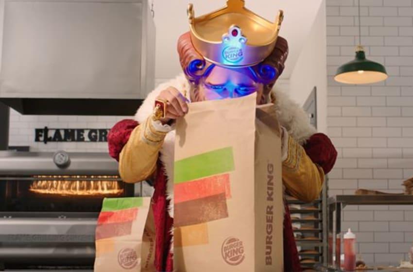Burger King gives away a PlayStation 5, photo provided by Burger King