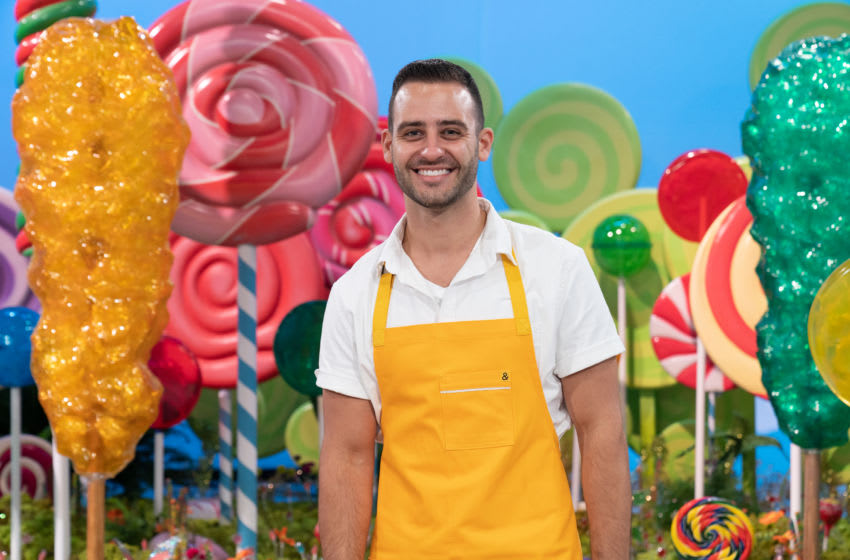 Contestant Jordan Pilarski, as seen on Candyland, Season 1. Photo courtesy Food Network