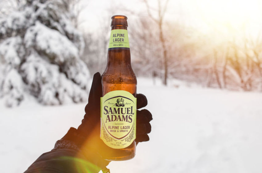 Samuel Adams Gameday Variety Pack embraces the chilly season , photo provided by Samuel Adams
