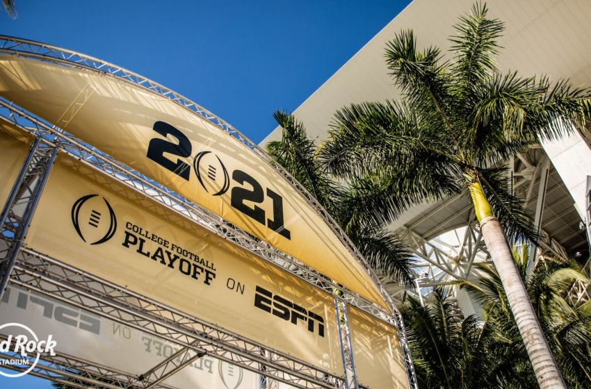 Centerplate tackles the 2021 College Football Championship game , photo provided by Centerplate
