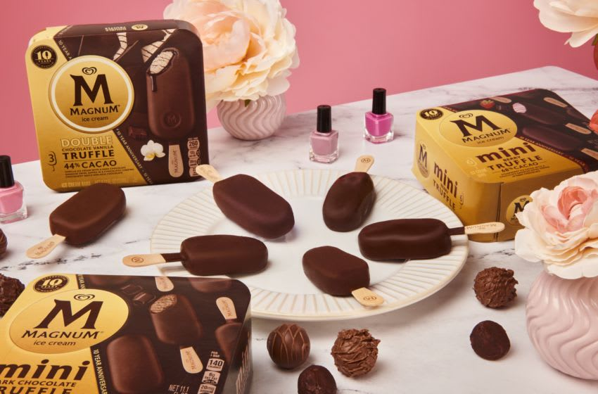 New Magnum Ice Cream offerings, photo provided by Magnum