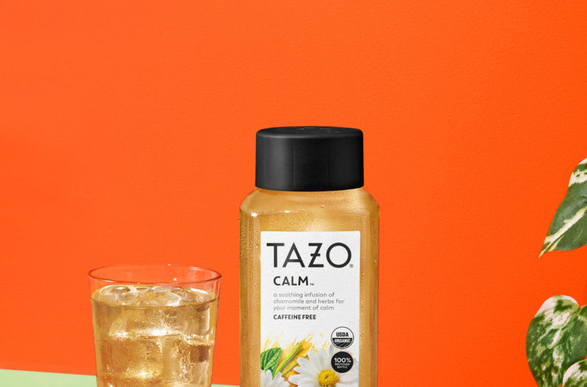 New TAZO Calm Bottle Iced Tea, photo provided by TAZO
