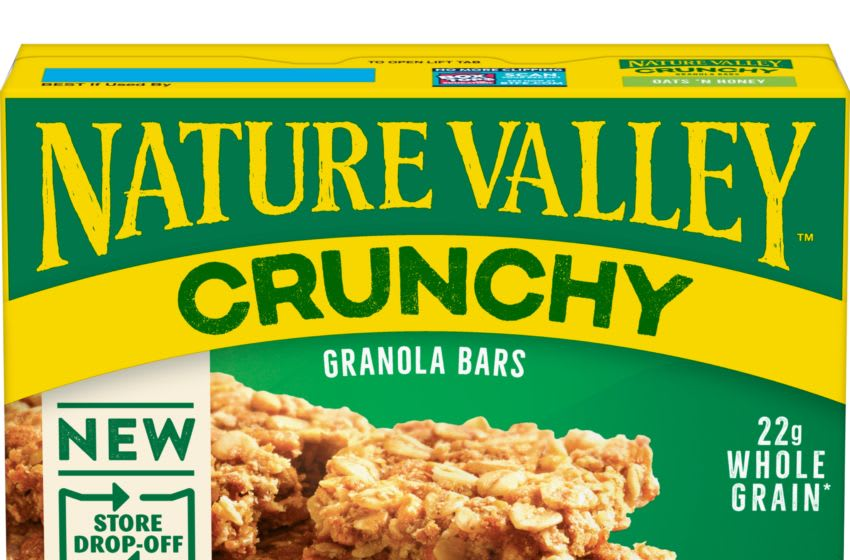 Nature Valley new packaging, photo provided by Nature Valley