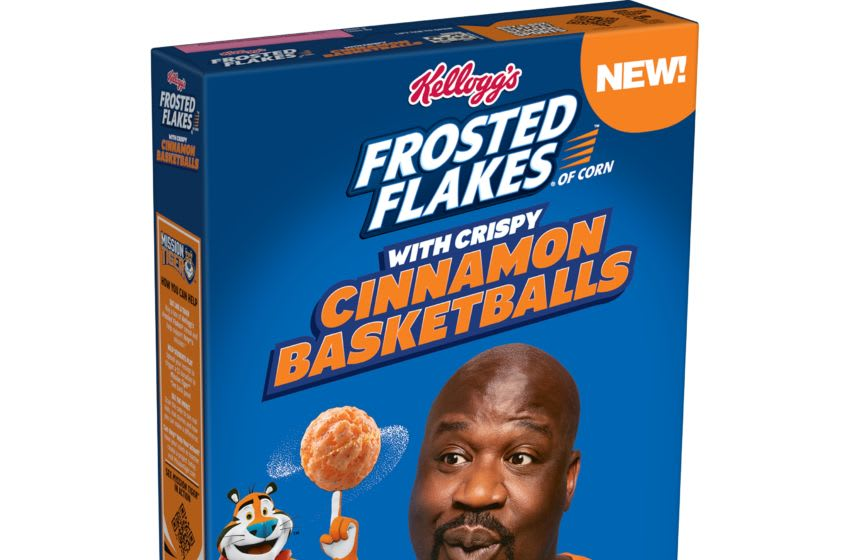 all-new Kellogg's Frosted Flakes® with Crispy Cinnamon Basketballs, photo provided by Frosted Flakes