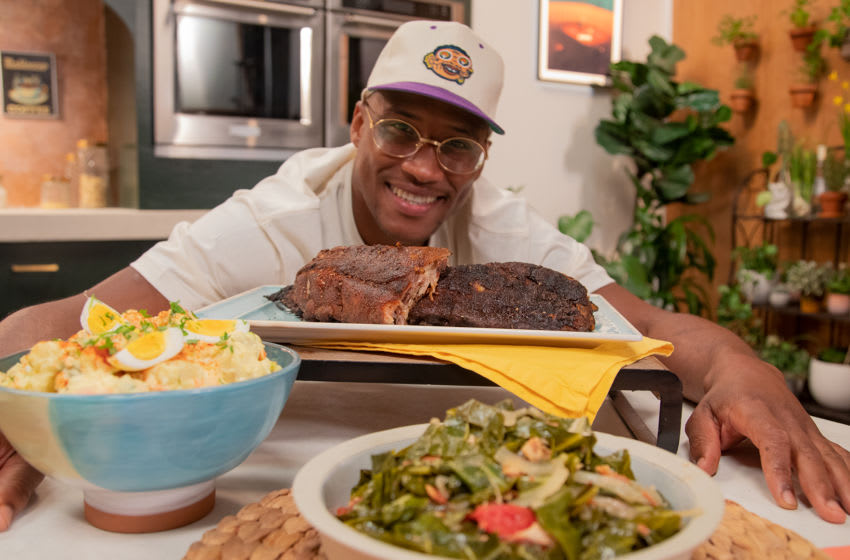 Derrell Smith of Mad Good Food on Tastemade, photo provided by Tastemade