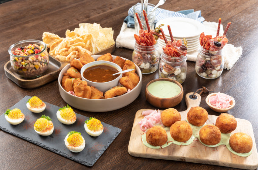 Kentucky Derby at Home menu, photo provided by Kentucky Derby