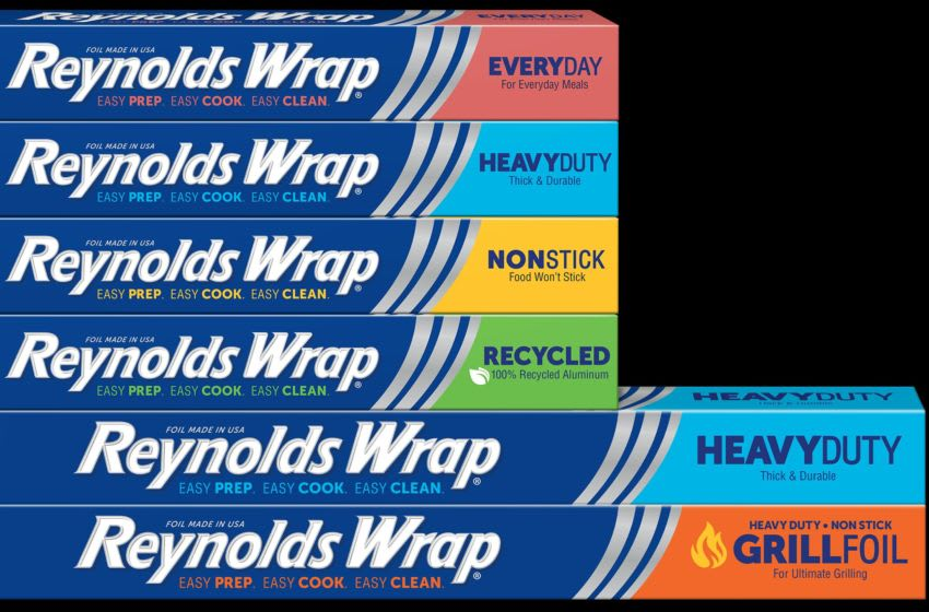 New Reynolds Wrap containers, photo provided by Reynolds
