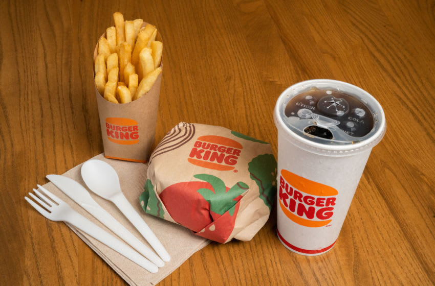 Burger King focuses on green packaging, photo provided by Burger King