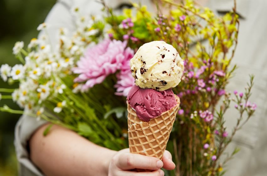 Eat your Flowers bouquets, photo provided by Salt & Straw