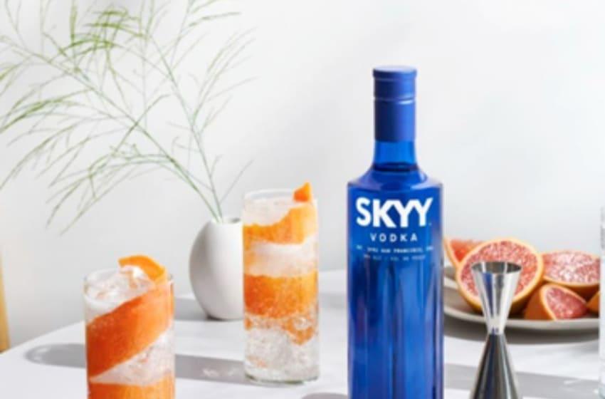 SKYY Vodka revitalizes its vodka, photo provided by SKYY Vodka