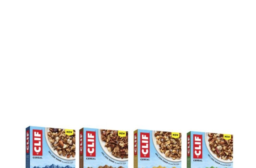 New CLIF Cereal, photo provided by Cliff