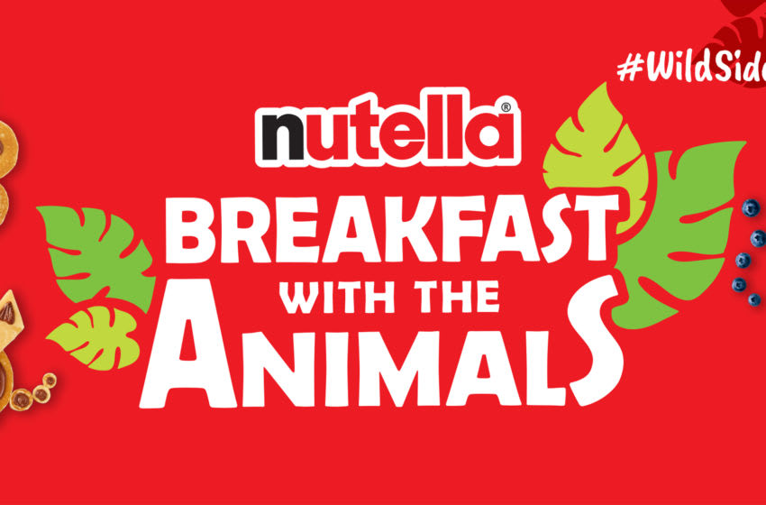 Nutella Breakfast with the Animals, photo provided by Nutella