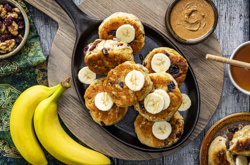 Brave Banana Cherry Teacake recipe , photo provided by Dole