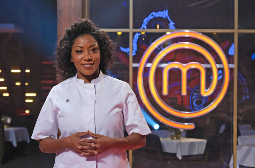 "MASTERCHEF: Guest judge Nyesha Arrington in the Semi Finale - 3 Chef Showdowni"" airing Wednesday, Sept. 8 (8:00-9:00 PM ET/PT) on FOX. © 2021 FOX MEDIA LLC. CR: FOX."