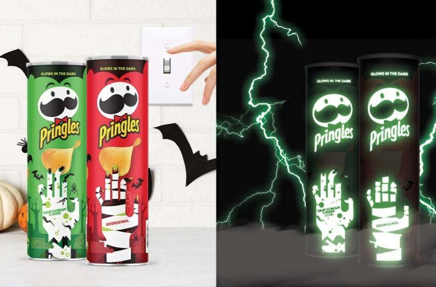 Halloween Pringles, photo provided by Pringles