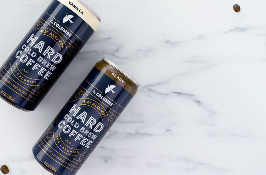 La Colombe Hard Cold Brew Coffee, photo provided by La Colombe & Miller Coors