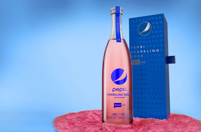 Pepsi and Bravo are announcing a Lisa Vanderpump-inspired Pepsi Sparkling Rosé, photo provided by Pepsi
