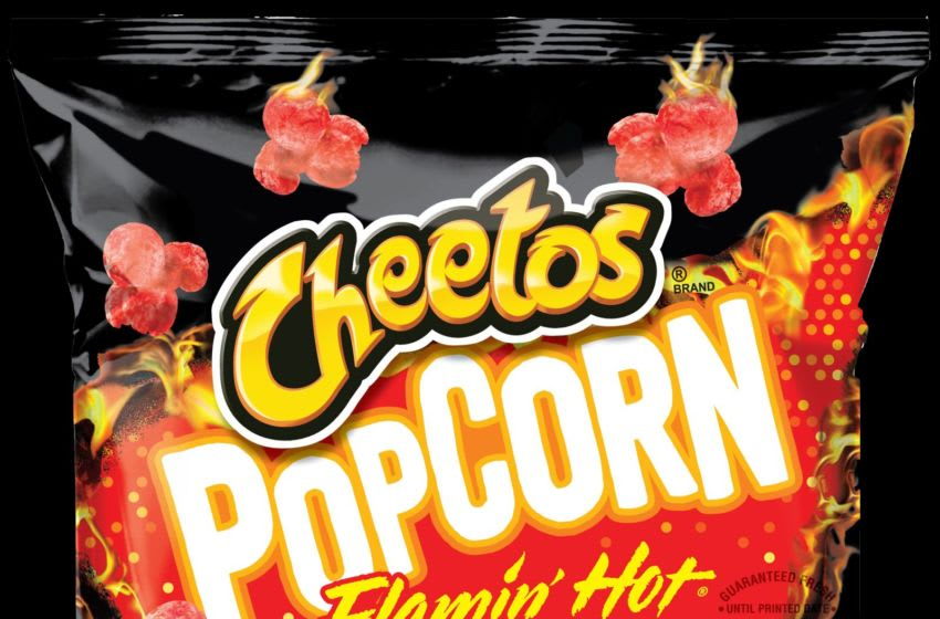 Cheetos Flamin' Hot Popcorn, photo provided by Cheetos
