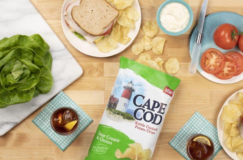 Cape Cod's new Sour Cream & Onion potato chips, photo provided by Cape Cod