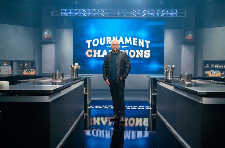 Host Guy Fieri, as seen on Tournament of Champions, Season 1. photo provided by Food Network
