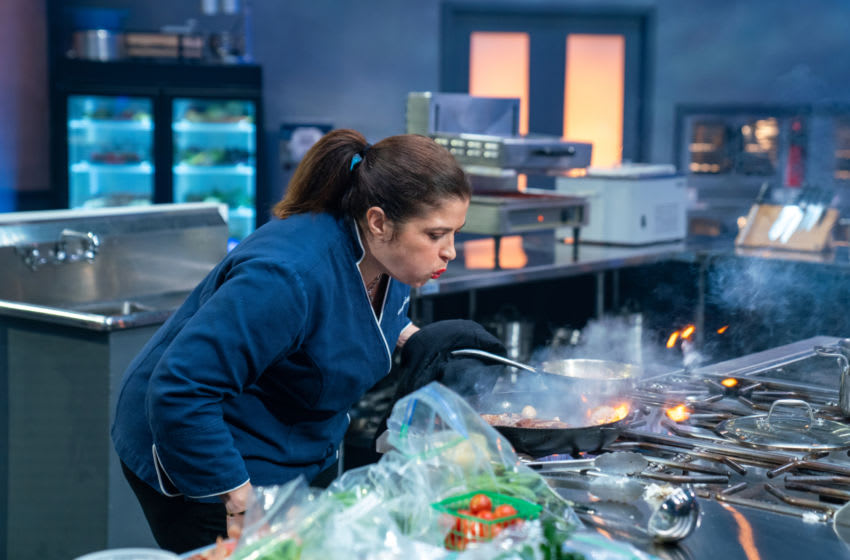Competitor Alex Guarnaschelli, as seen on Tournament of Champions, Season 1. photo provided by Food Network