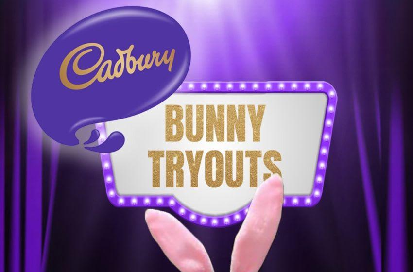 Cadbury Bunny is Lieutenant Dan, photo provided by Cadbury