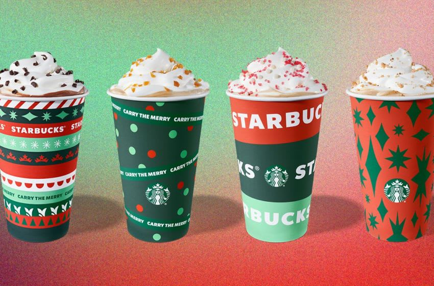 Starbucks 2020 Holiday offerings, photo provided by Starbucks