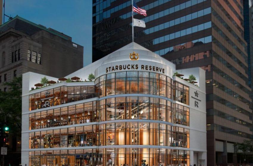 Starbucks rendering of Chicago Roastery, photo provided by Starbucks
