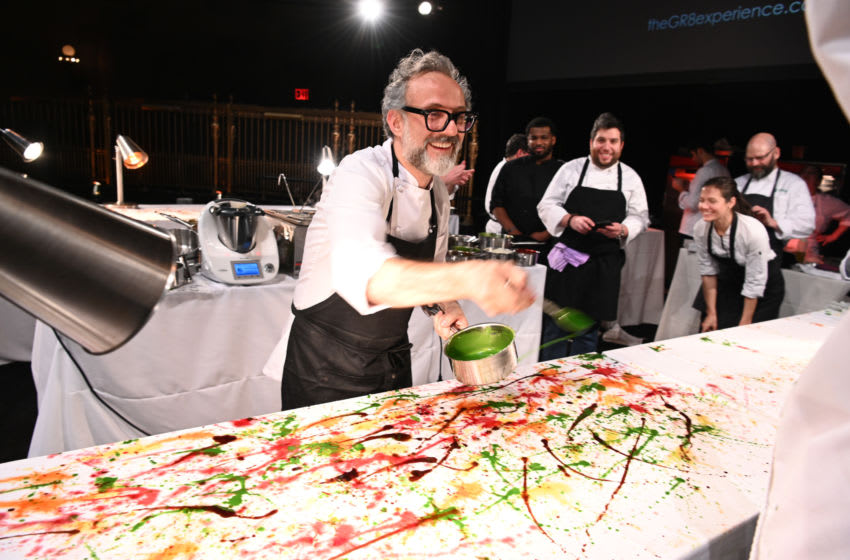 NEW YORK, NY - DECEMBER 05: Massimo Bottura attends Once Upon A Kitchen at Gotham Hall on December 5, 2018 in New York City. (Photo by Dave Kotinsky/Getty Images For God's Love We Deliver)