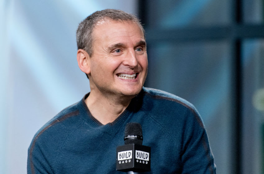 NEW YORK, NY - JANUARY 12: Phil Rosenthal visits the Build Series to discuss 'Somebody Feed Phil' at Build Studio on January 12, 2018 in New York City. (Photo by Roy Rochlin/Getty Images)