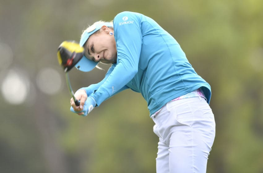 Lexi Thompson of the United States. (Photo by Roy K. Miller/Icon Sportswire via Getty Images)
