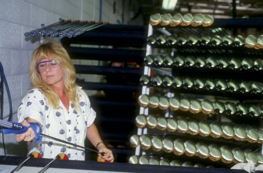 The Karsten Manufacturing/Ping headquarters in Phoenix, Arizona. Mandatory Credit: Gary Newkirk /Allsport