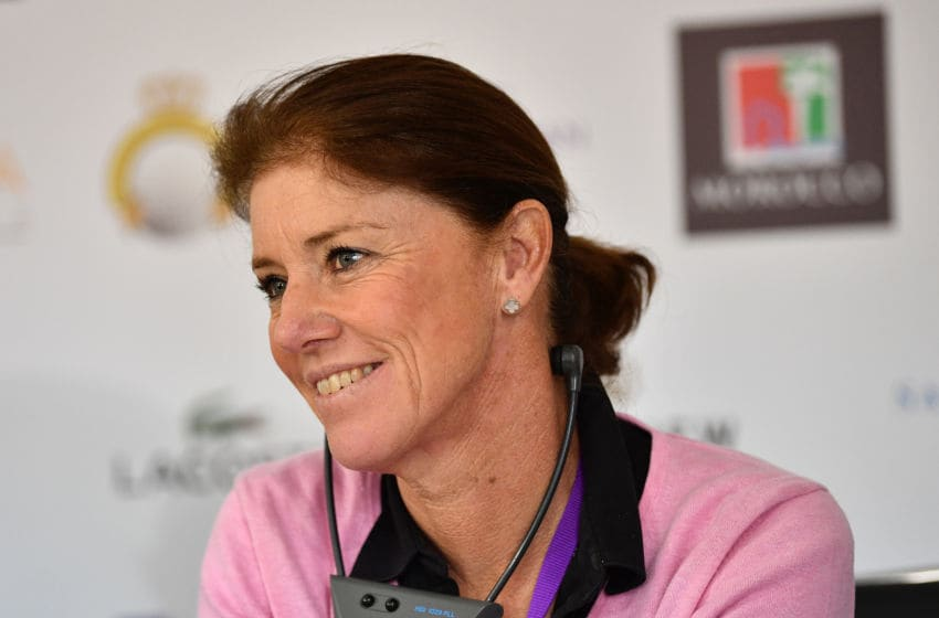 Helen Alfredsson, Player President Ladies European Tour. (Photo by Stuart Franklin/Getty Images)