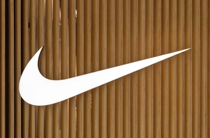 Nike Swoosh. (Photo by Roberto Machado Noa/LightRocket via Getty Images)