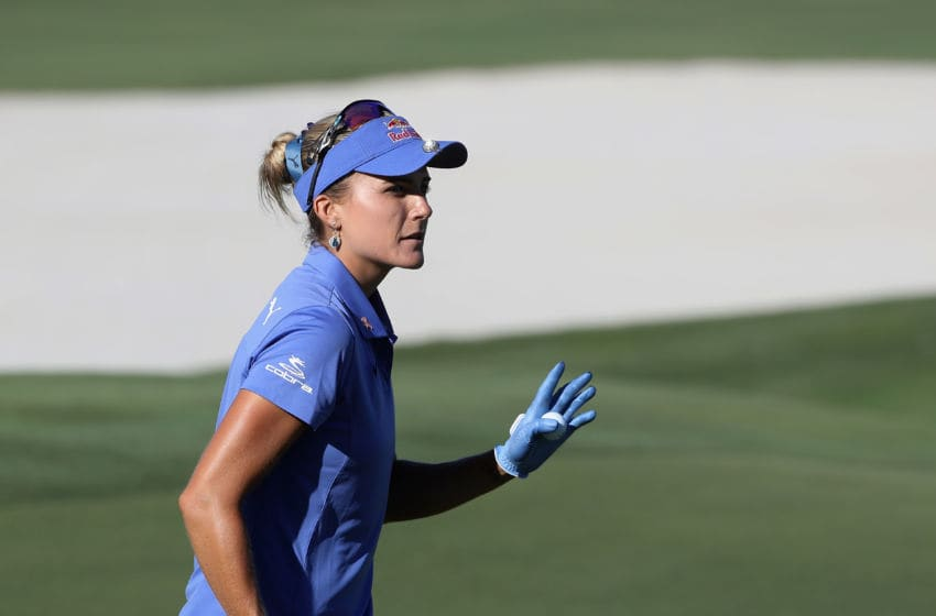 Lexi Thompson of the United States. (Photo by Sam Greenwood/Getty Images)