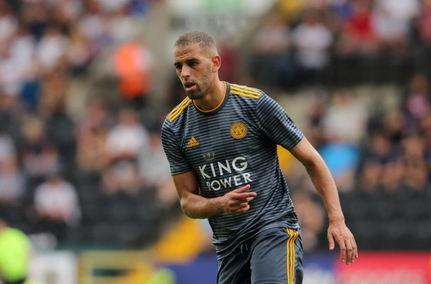 Islam Slimani, Leicester City (Photo by James Williamson - AMA/Getty Images)