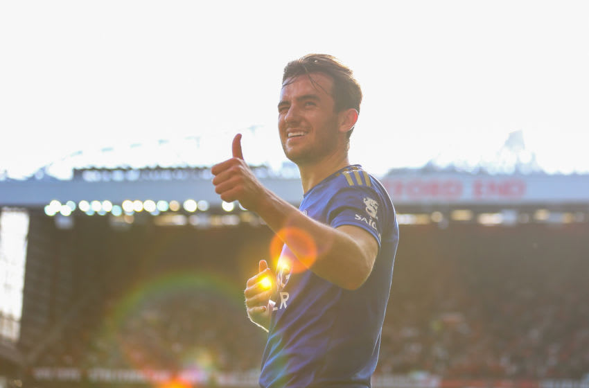 Ben Chilwell of Leicester City (Photo by Robbie Jay Barratt - AMA/Getty Images)