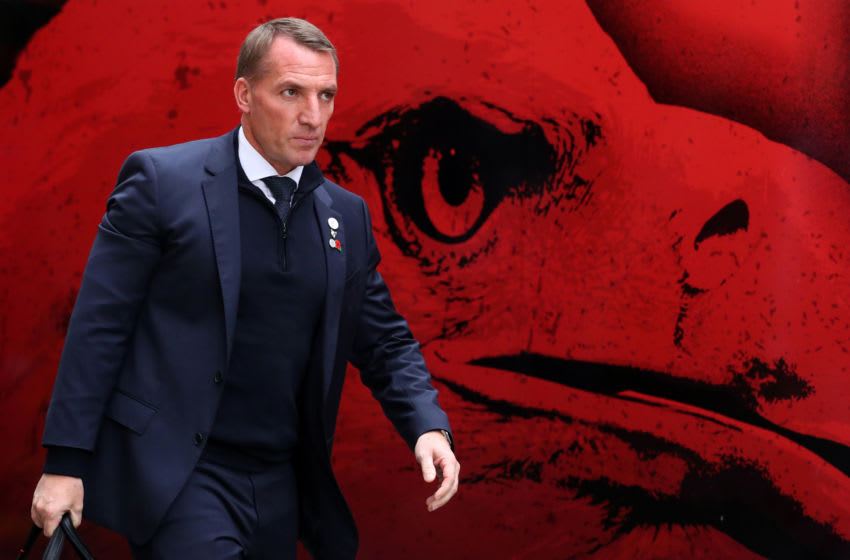 Brendan Rodgers of Leicester City (Photo by Catherine Ivill/Getty Images)